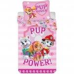 Set lenjerie pat copii Paw Patrol Pup Power 100x135 + 40x60 SunCity