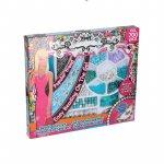 Set margele decorative Eddy Toys 700 piese bleu