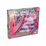 Set margele decorative Eddy Toys 700 piese roz