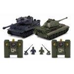 Tancuri cu telecomanda Panzer Tiger Battle 1:28 Jamara 403635