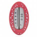 Termometru de baie oval red-berry Reer 24114