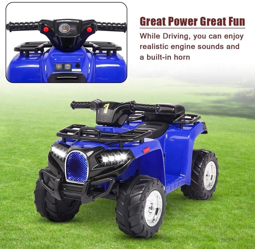 Atv electric copii Nichiduta Quad Pro Blue - 4