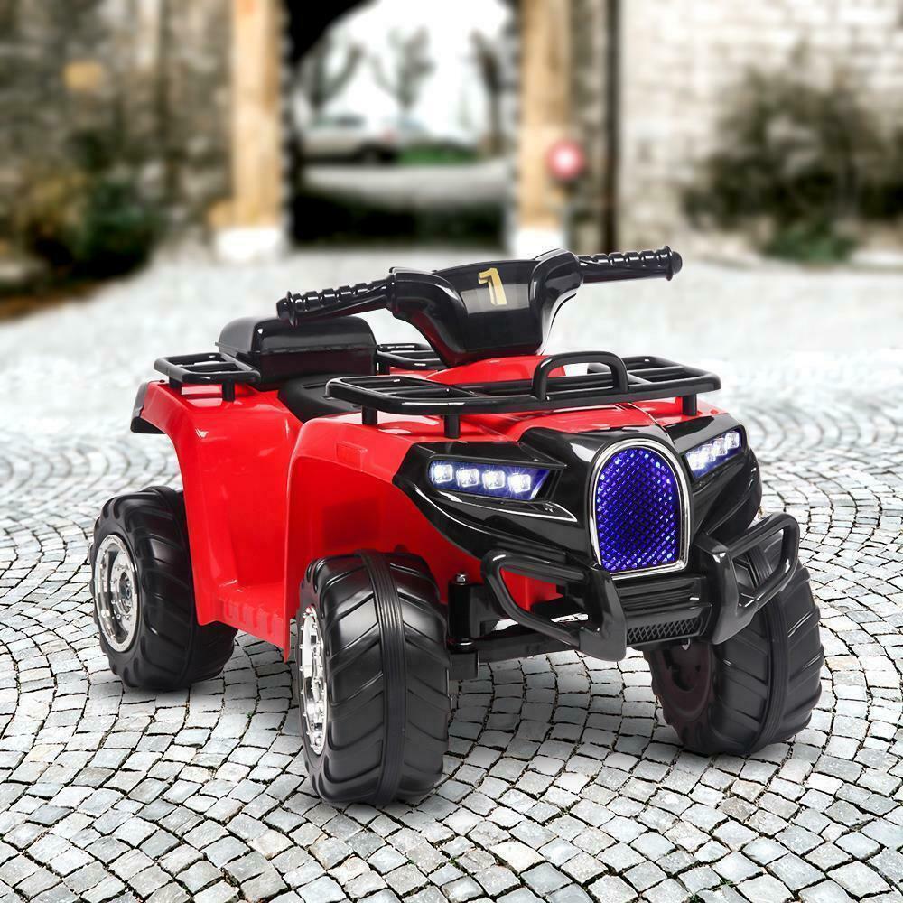 Atv electric copii Nichiduta Quad Pro Red - 2