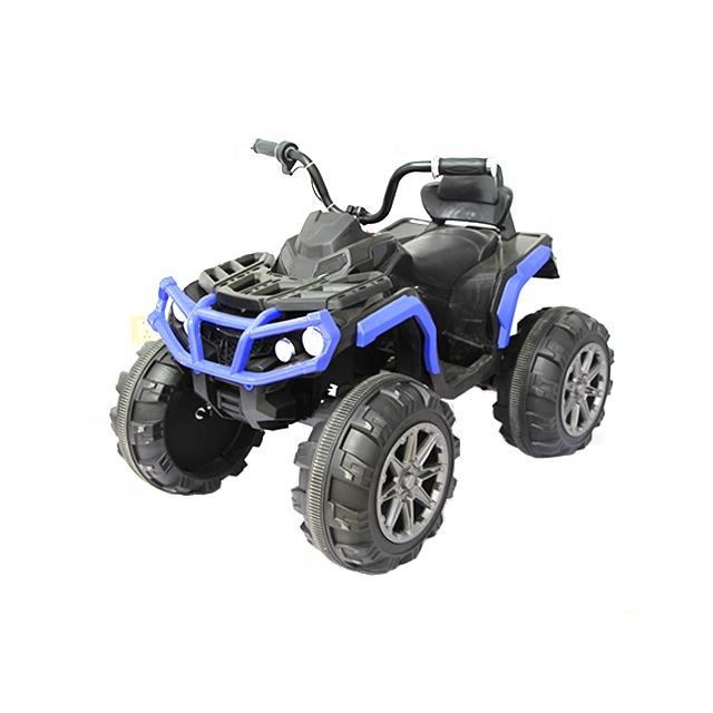 Atv electric cu 2 motoare si roti EVA Nichiduta Force Blue - 1