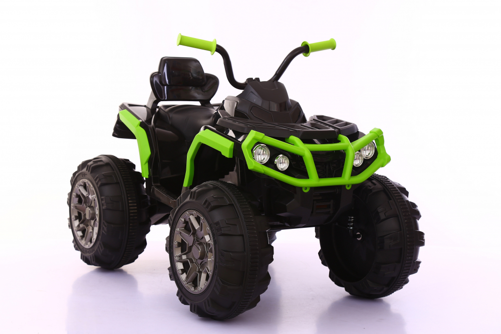 Atv electric cu 2 motoare si roti EVA Nichiduta Force Green