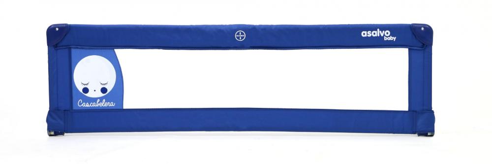 Balustrada de protectie pentru pat Asalvo Bed Rail 150 cm Moon Blue