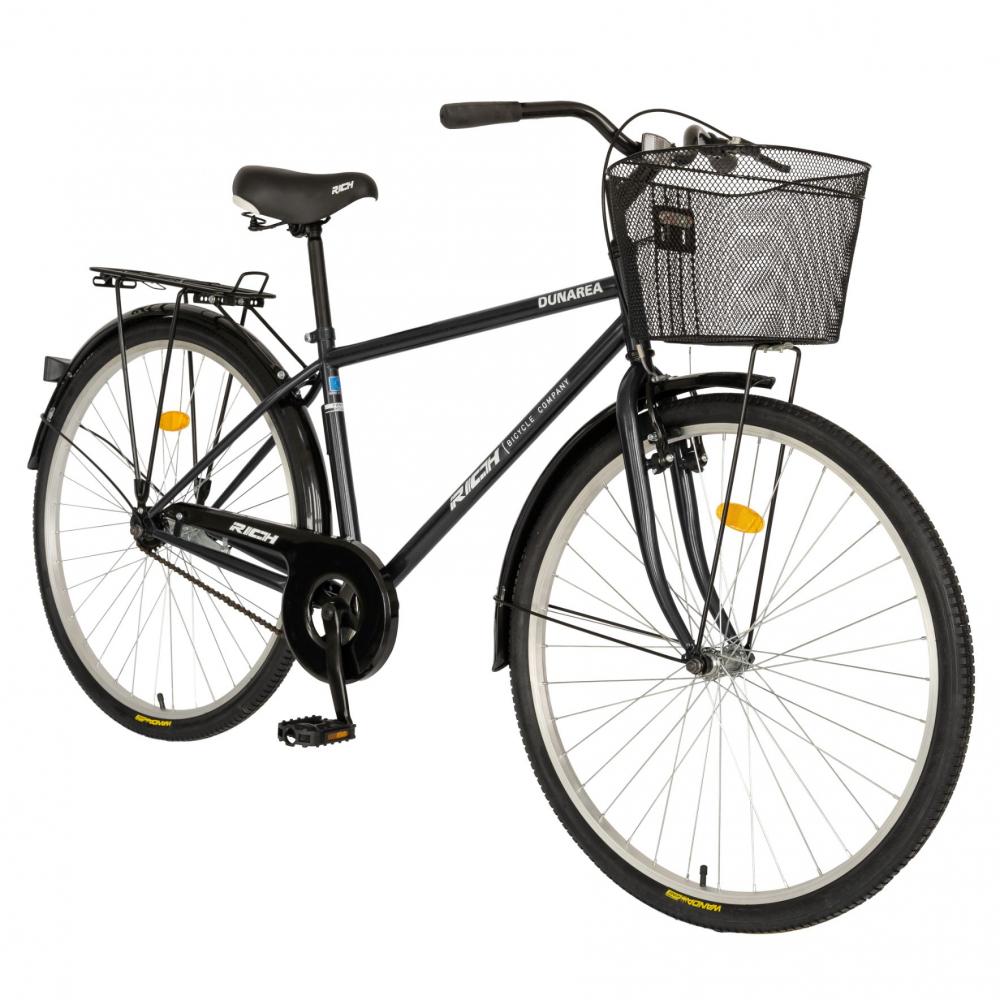 Bicicleta City 28 Inch Rich Dunarea CSR2892A negrualb