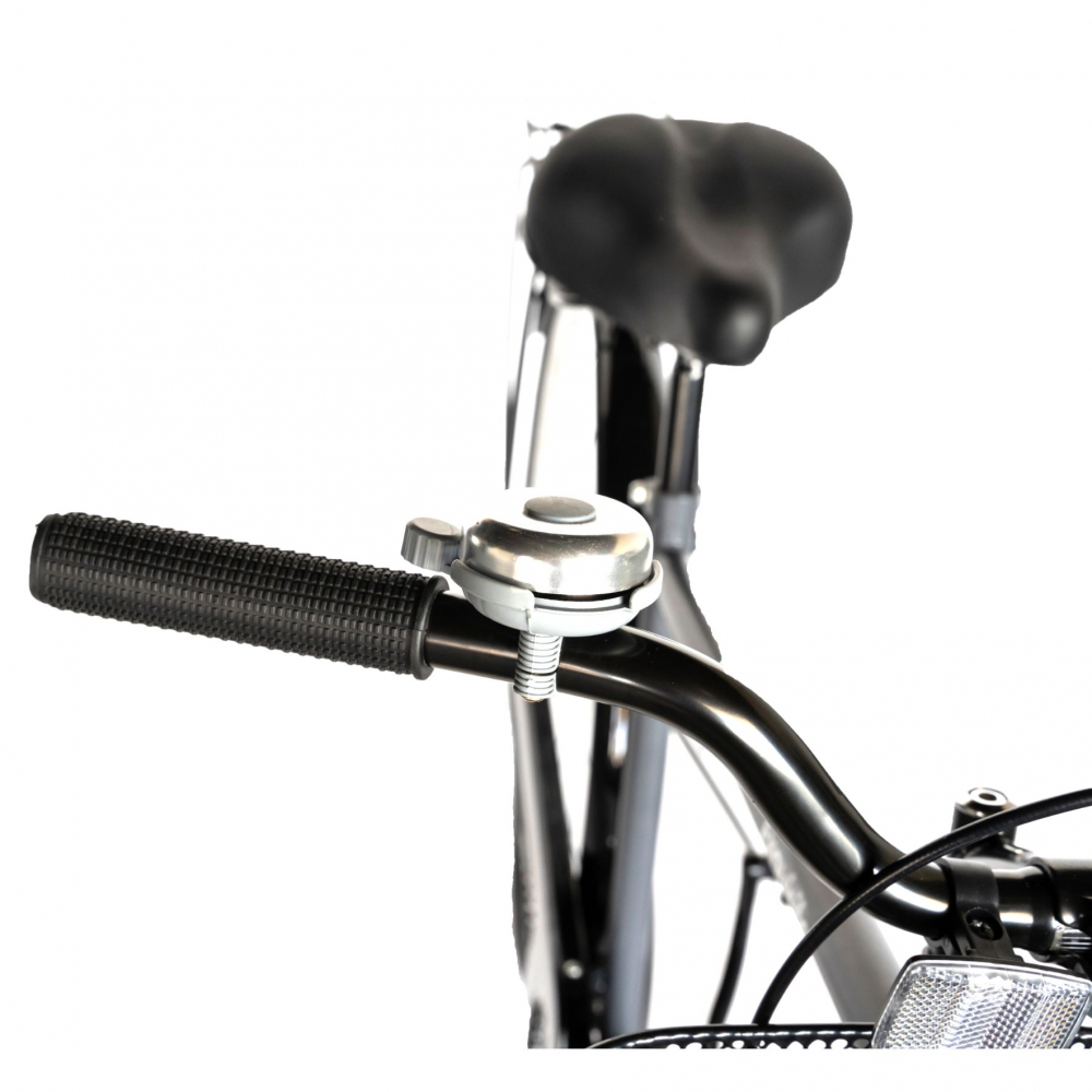 Bicicleta City 28 Rich Exquisite R2891A culoare grialb