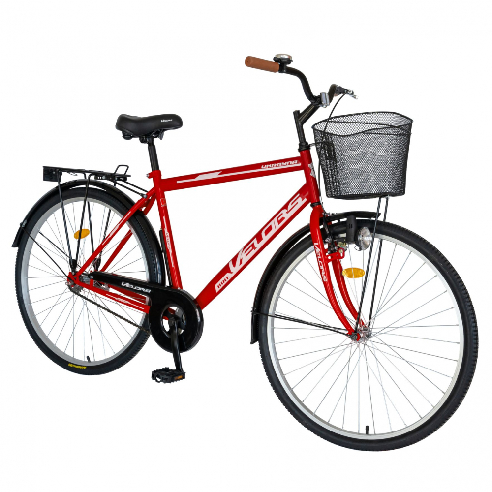 Bicicleta City 28 inch V-Brake Velors Ukrayna CSV2893A rosualb