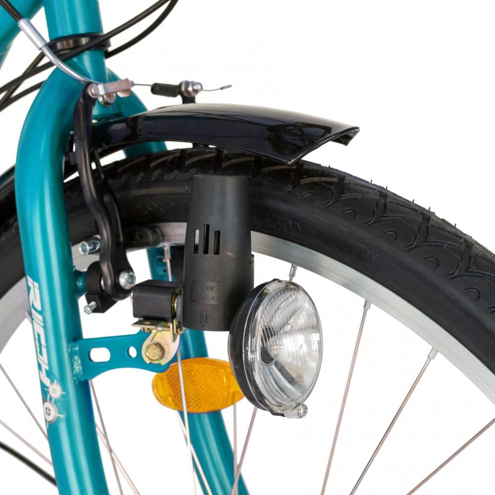 Bicicleta City Saiguan Revoshift 18 Viteze 26 inch Rich CSR2632A bleualb