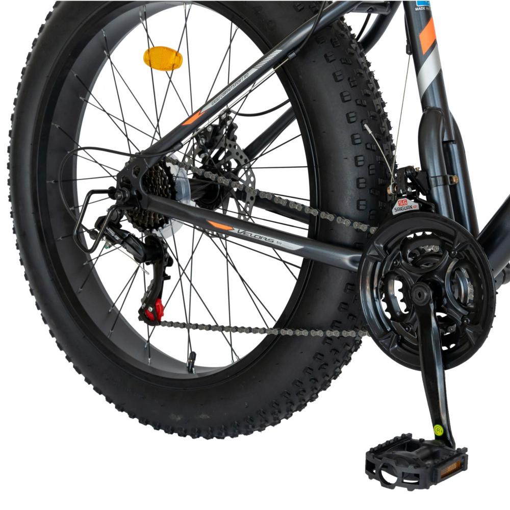 Bicicleta Fat-Bike Wolf Shimano Tourney 26 inch Velors CSV2605D griportocaliu