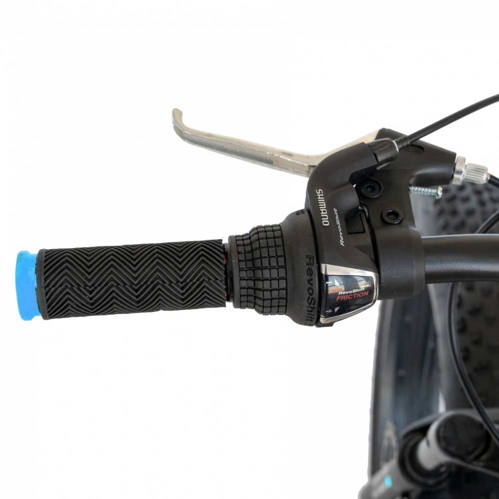 Bicicleta MTB-Fat Bike Shimano Revoshift Tourney 21 viteze 26 inch CSV2619B negrualbastru