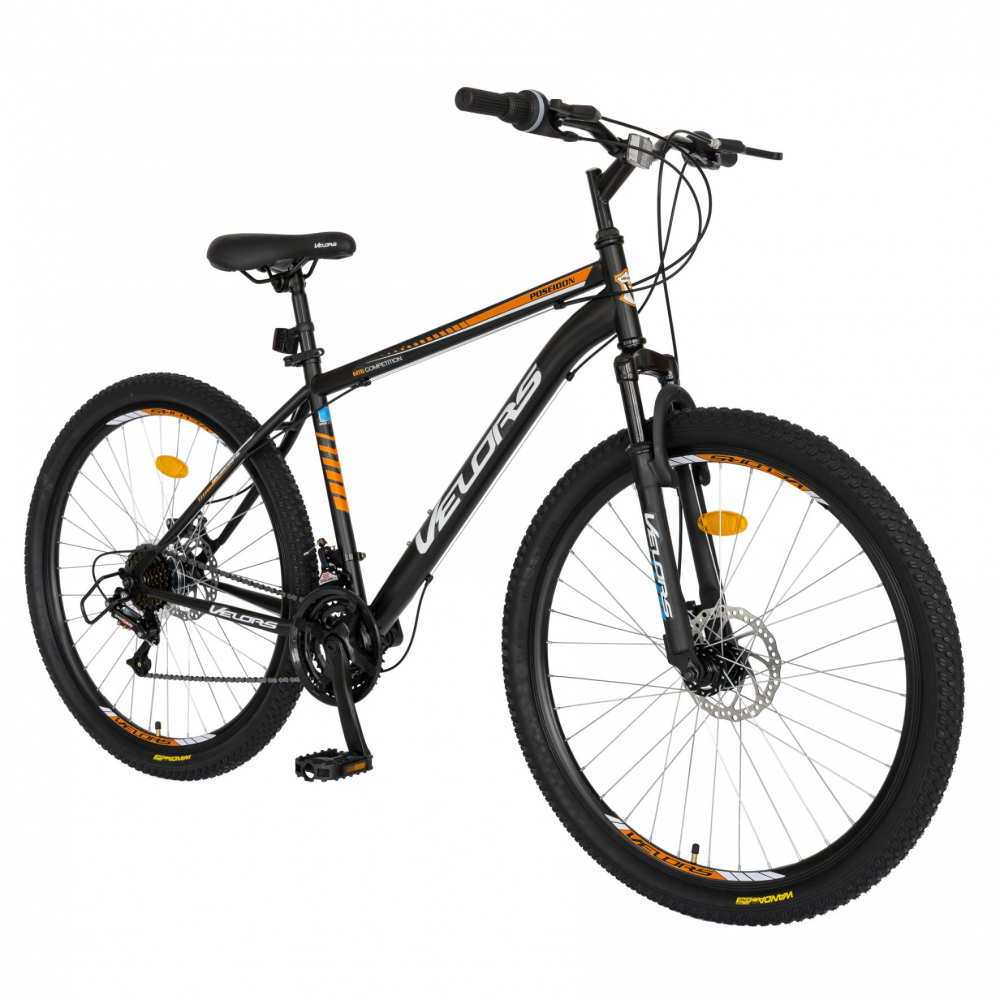 Bicicleta MTB-HT 27.5 inch Velors Poseidon CSV2709A negruportocaliu