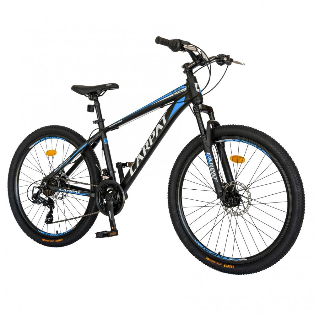 Bicicleta MTB-HT Shimano Tourney TY-300 26 inch Carpat CSC2699A albastru