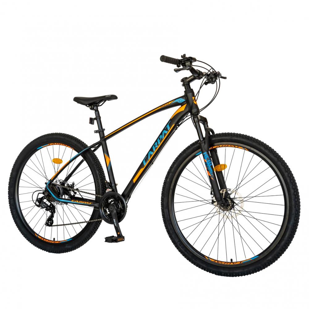 Bicicleta MTB-HT Shimano Tourney TY-300 29 inchCarpat CSC2957C negruportocaliu