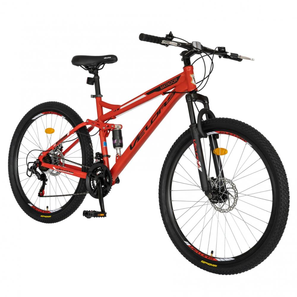 Bicicleta MTB-HT Shimano Tourney TZ500D 26 inch Velors CSV2660D rosunegru
