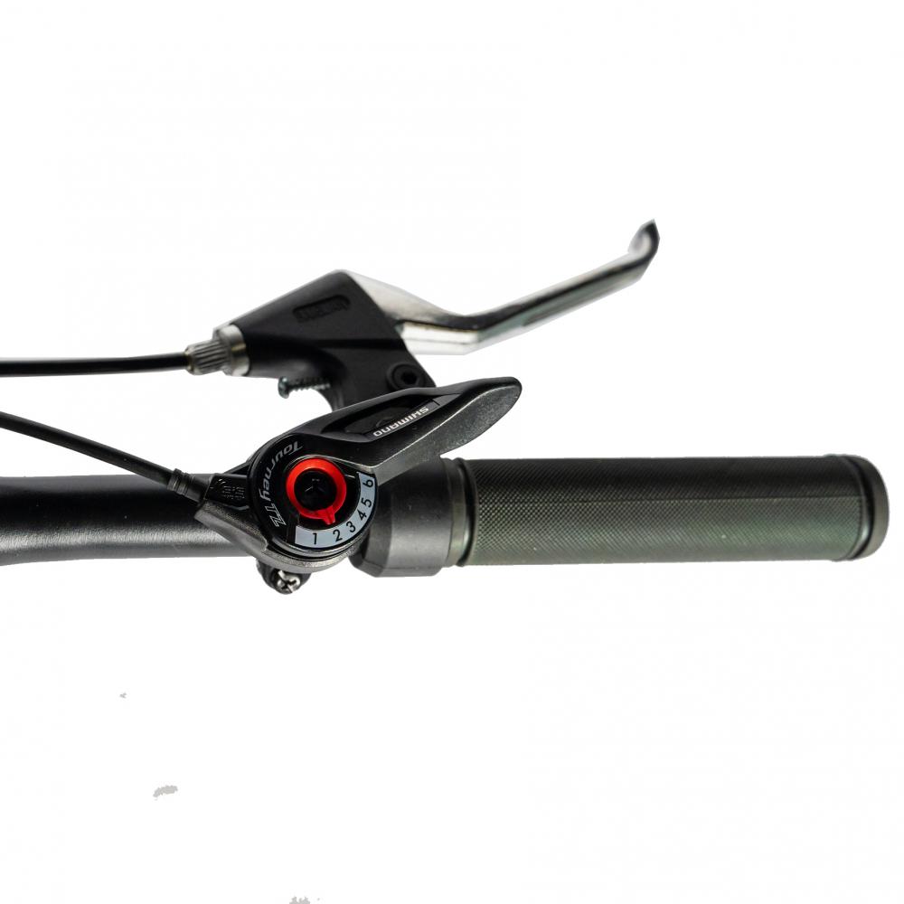 Bicicleta MTB-HT Shimano Tourney TZ500D Roti 27.5 inch Velors CSV2760D negrualbastru