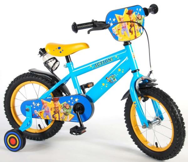 Bicicleta copii Volare Toy story 14 inch cu sticla apa si frana mana