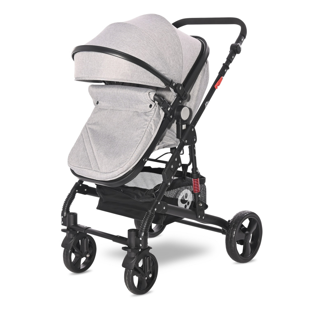 Carucior 3 in 1 Alba Classic cos auto inclus Grey