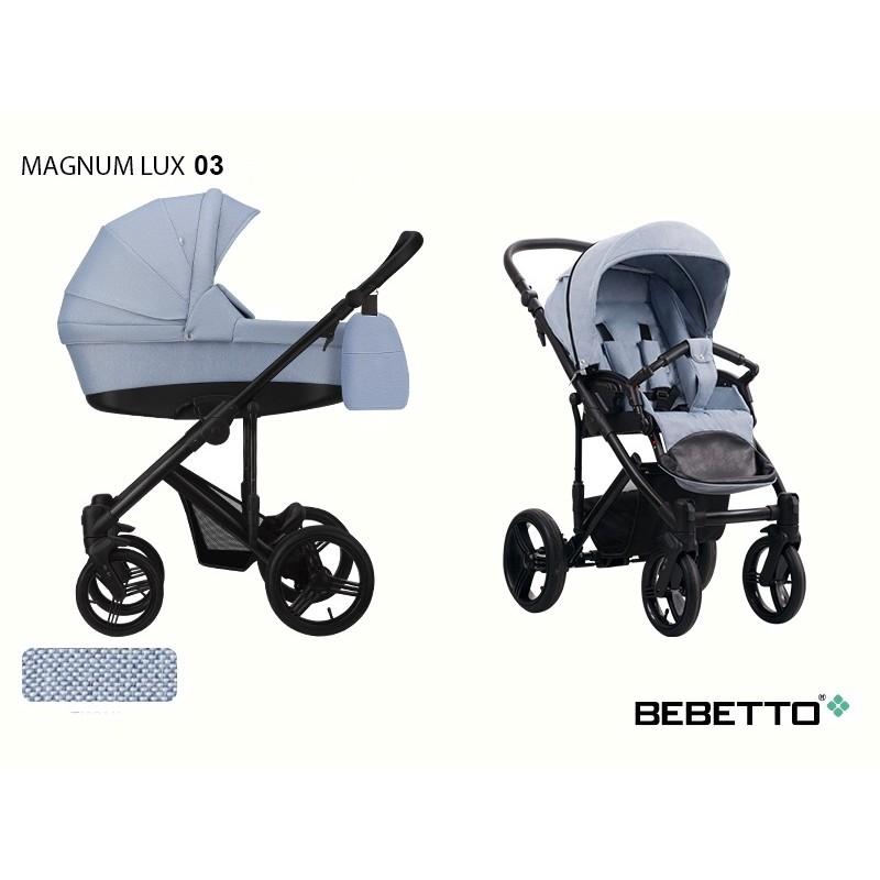 Carucior 3 in 1 Bebetto Magnum Lux - 6