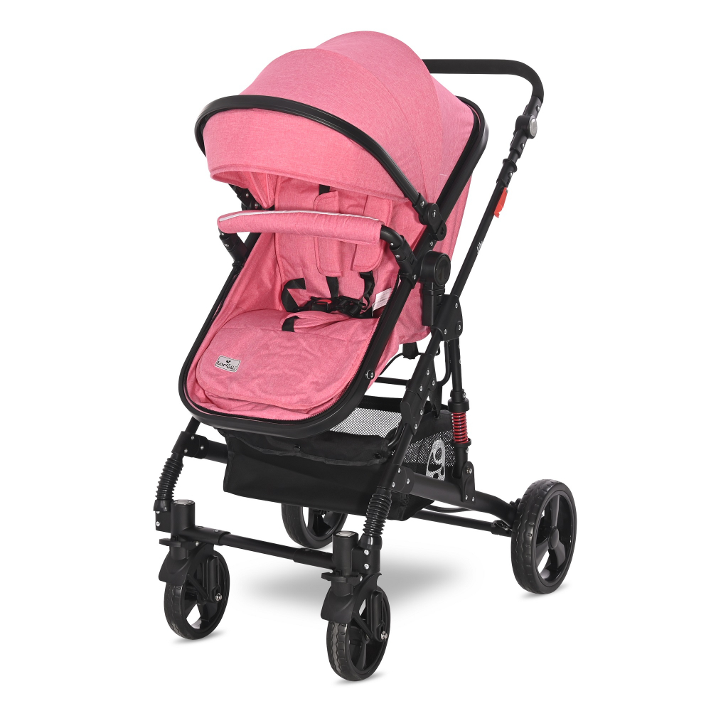 Carucior transformabil 2 in 1 Alba Classic Candy Pink