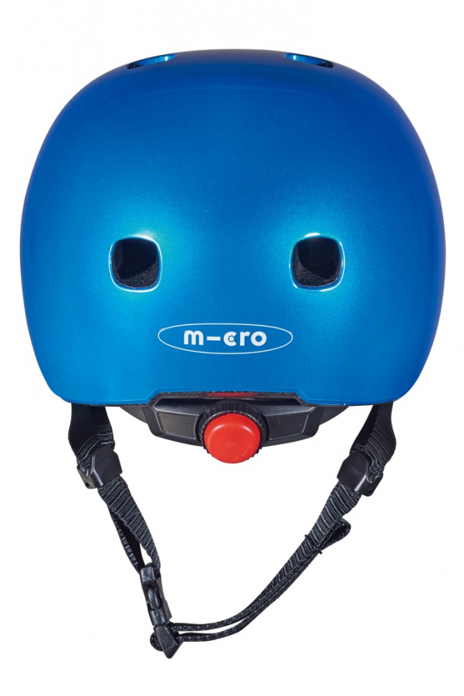 Casca Metallic Blue M cu Led