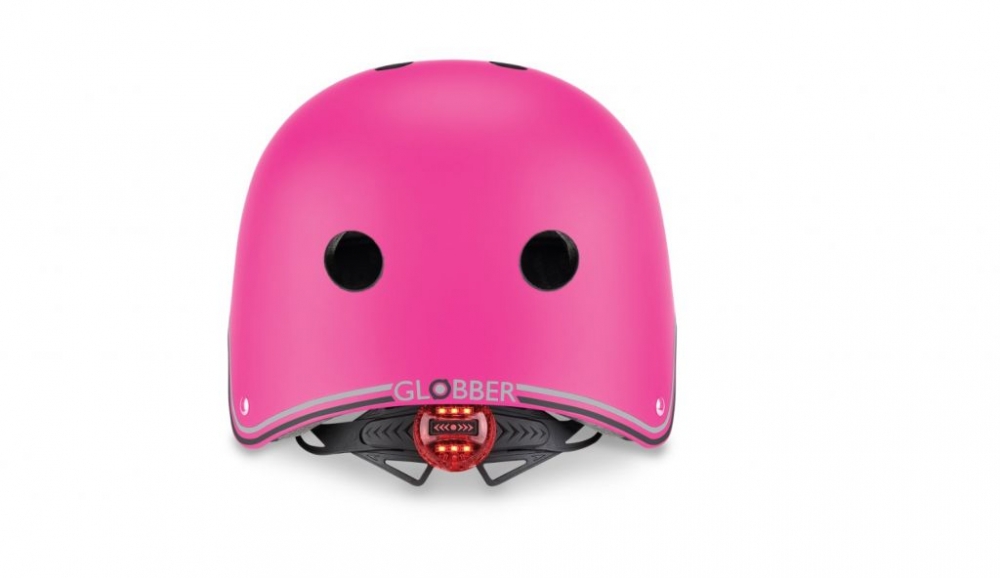 Casca protectie Globber Primo XSS cu lumini roz