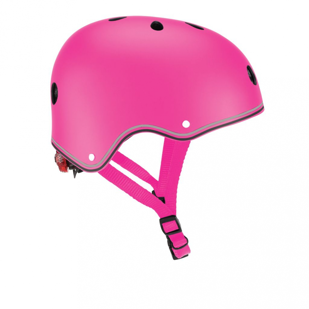 Globber Casca protectie Globber Primo XSS cu lumini roz