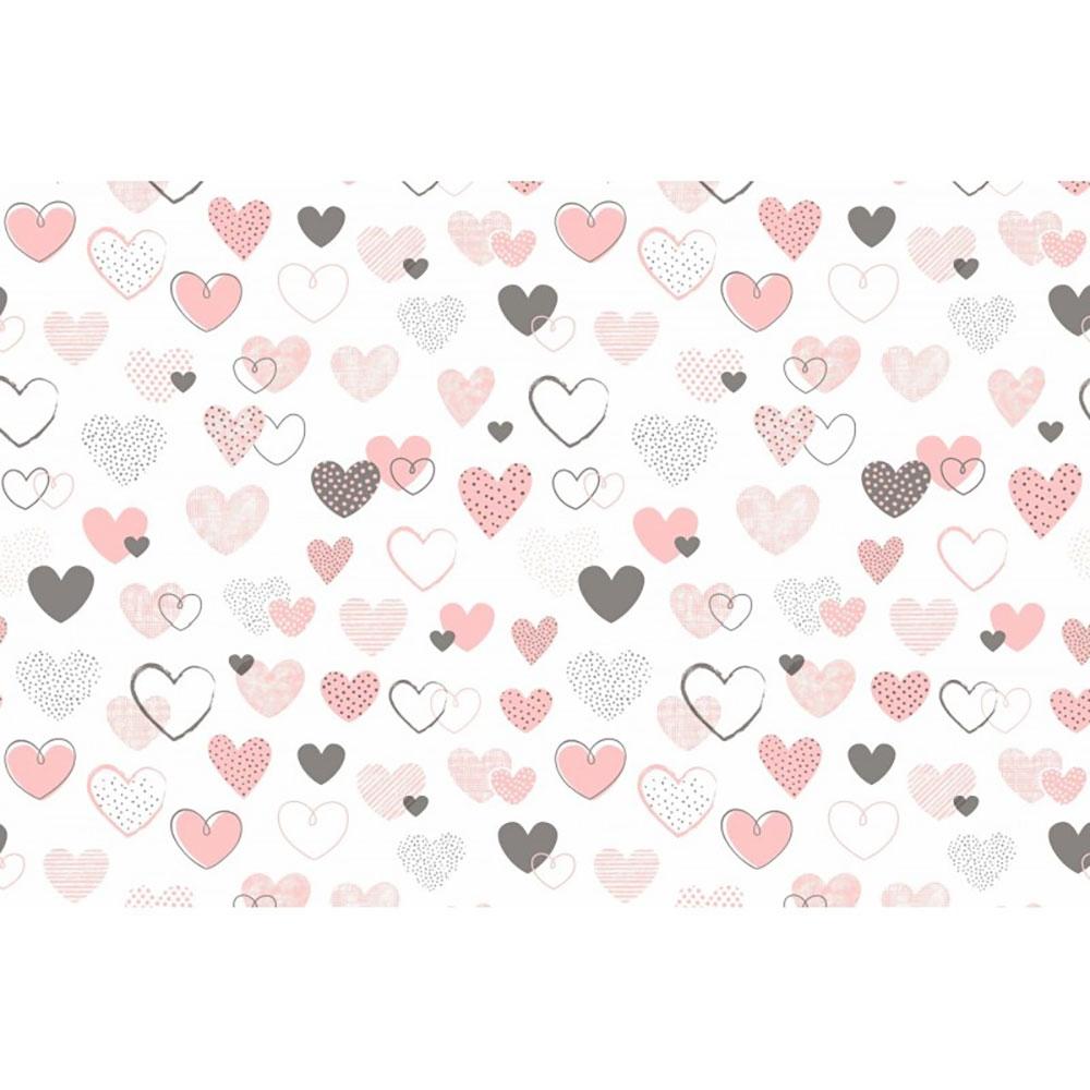 Lenjerie patut Hearts 4 piese multicolor