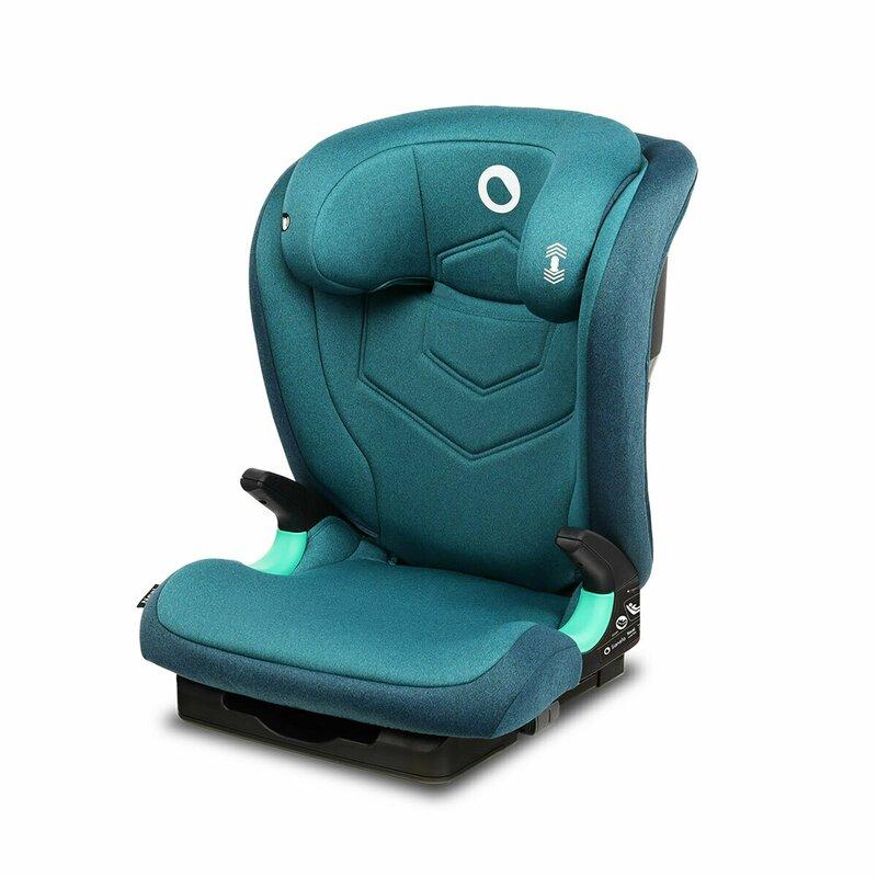 Lionelo Scaun auto i-Size Neal cu isofix 15-36 kg Green Turquoise