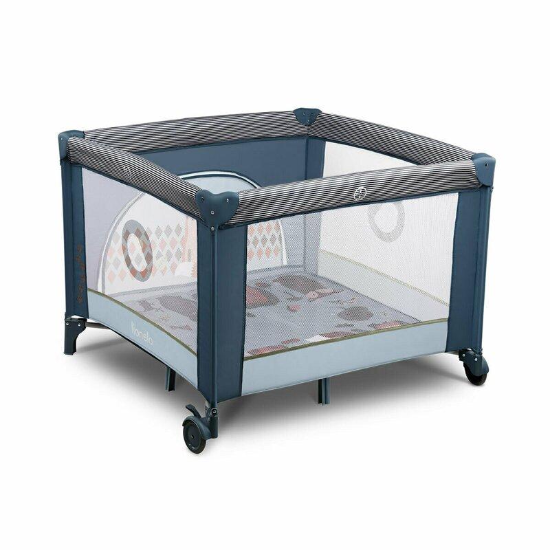Tarc de joaca Sofie 100 x 100 cm Blue Navy Lionelo