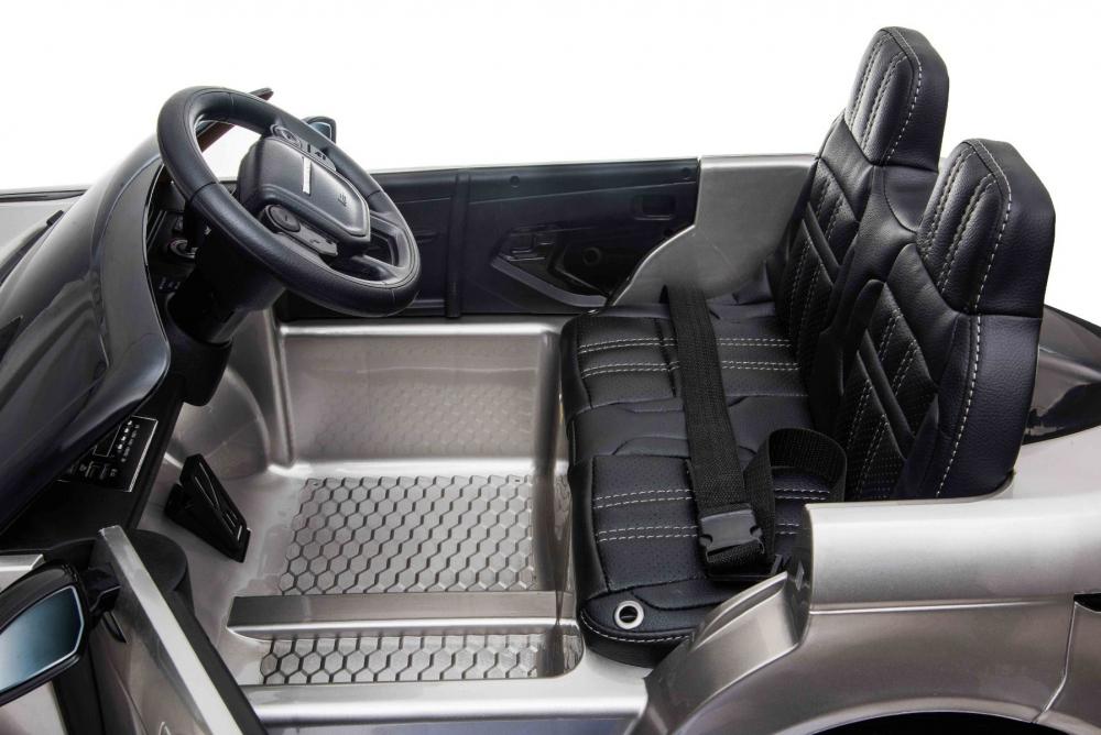 Masinuta electrica 12V cu roti EVA Range Rover Limited Edition Silver