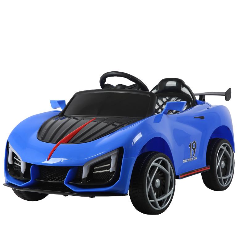 Masinuta electrica cu scaun din piele Nichiduta Cool Sports Blue
