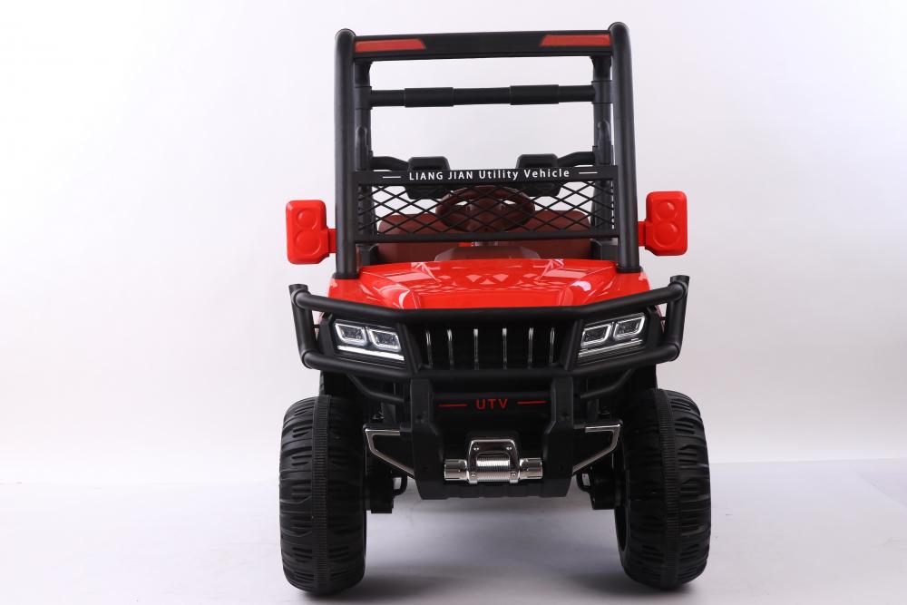 Masinuta electrica cu scaun din piele Nichiduta Sport Truck Red - 4