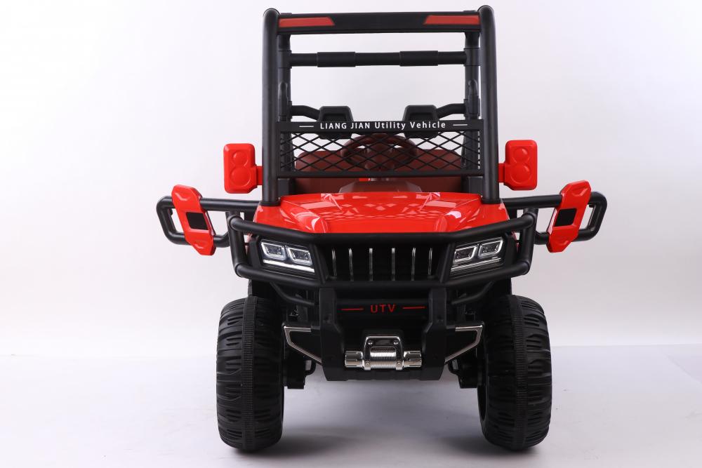 Masinuta electrica cu scaun din piele Nichiduta Sport Truck Red - 5