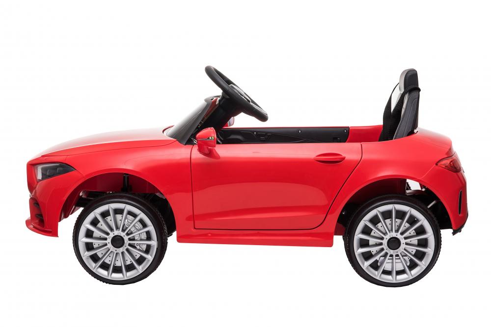 Masinuta electrica cu scaun din piele si licenta Mercedes Benz CLS350 Red