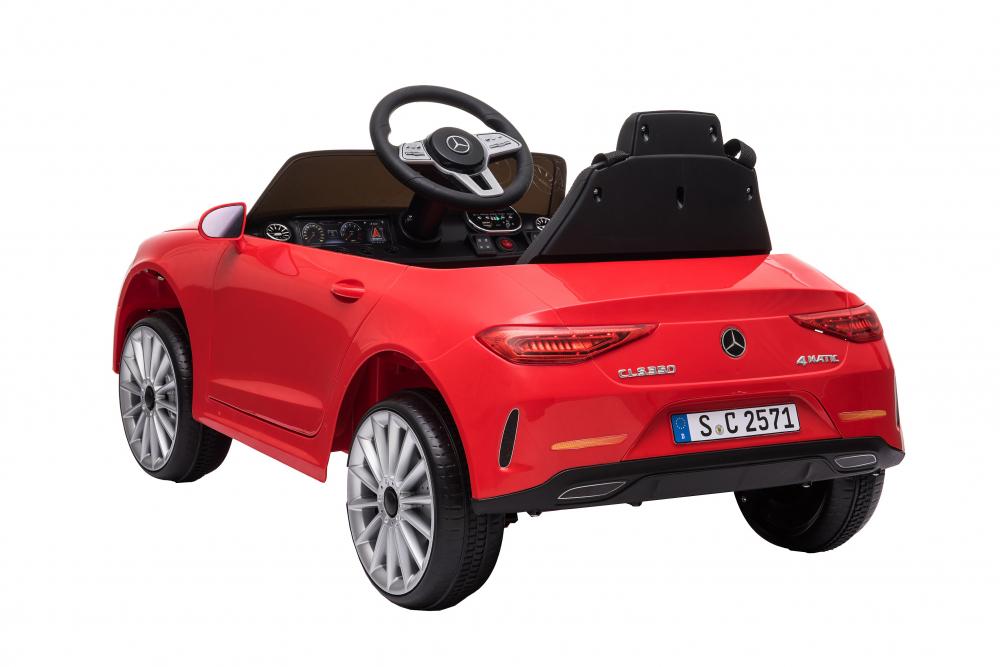 Masinuta electrica cu scaun din piele si licenta Mercedes Benz CLS350 Red - 1