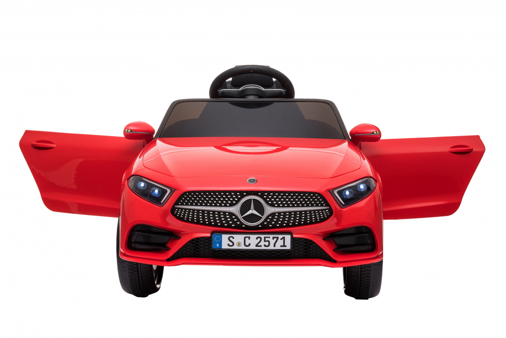 Masinuta electrica cu scaun din piele si licenta Mercedes Benz CLS350 Red - 2