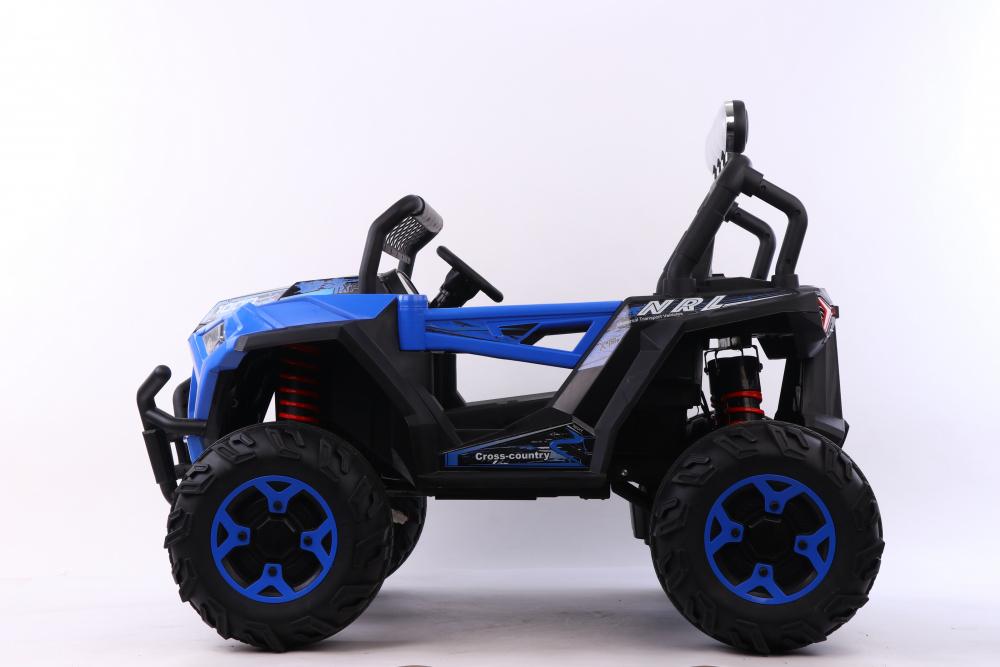 Masinuta electrica 4x4 cu scaun din piele Nichiduta Cross Country Blue