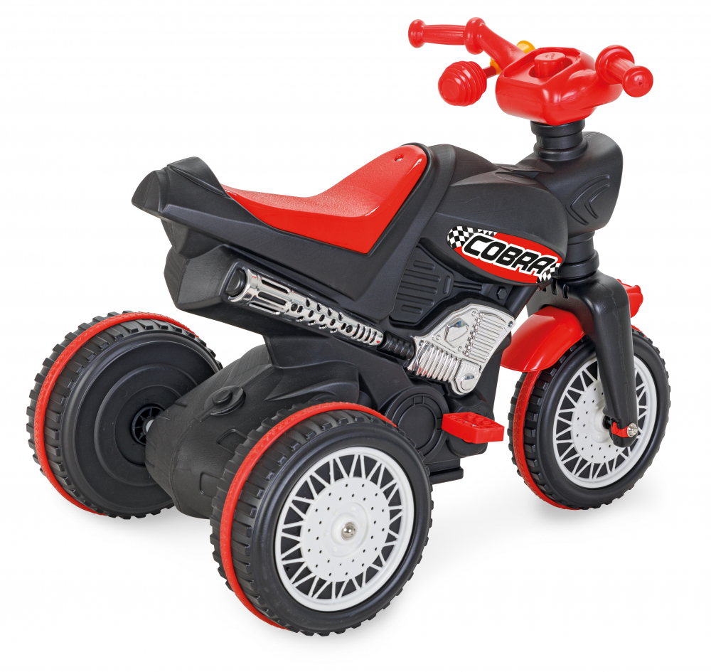 Motocicleta cu pedale si lant Pilsan Cobra - 1