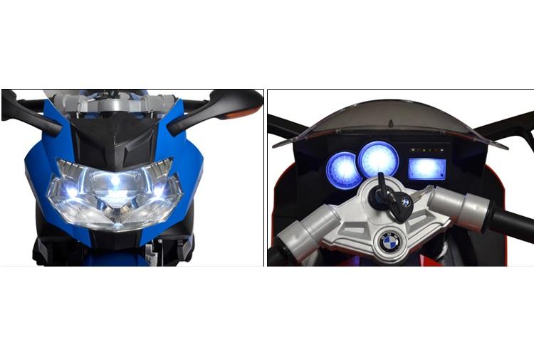 Motocicleta electrica 12V BMW K1300 S Blue - 1