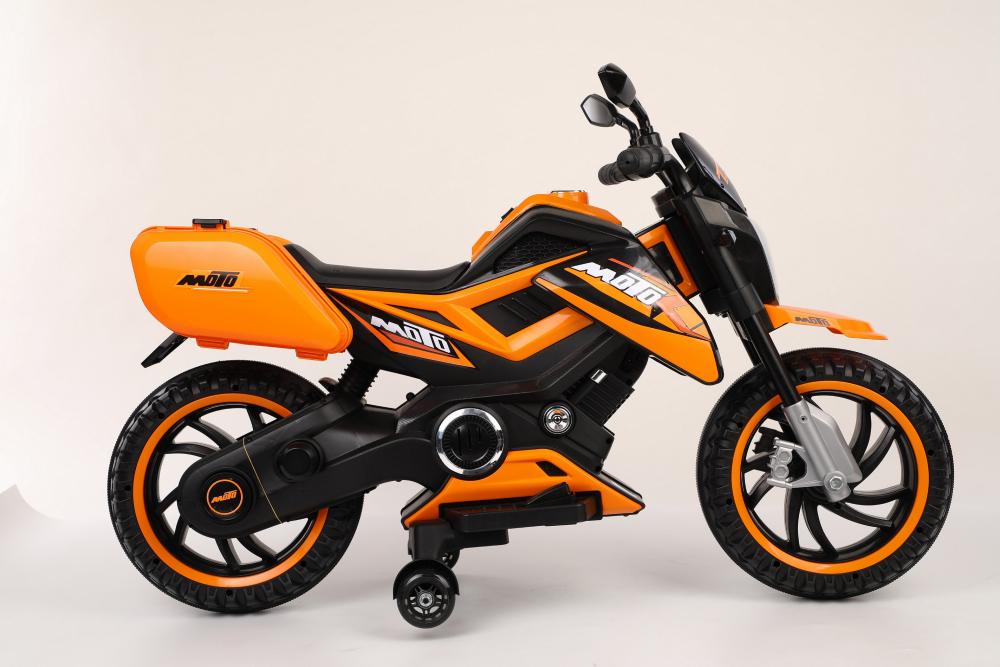 Motocicleta electrica 12V Nichiduta MTK Yellow - 8