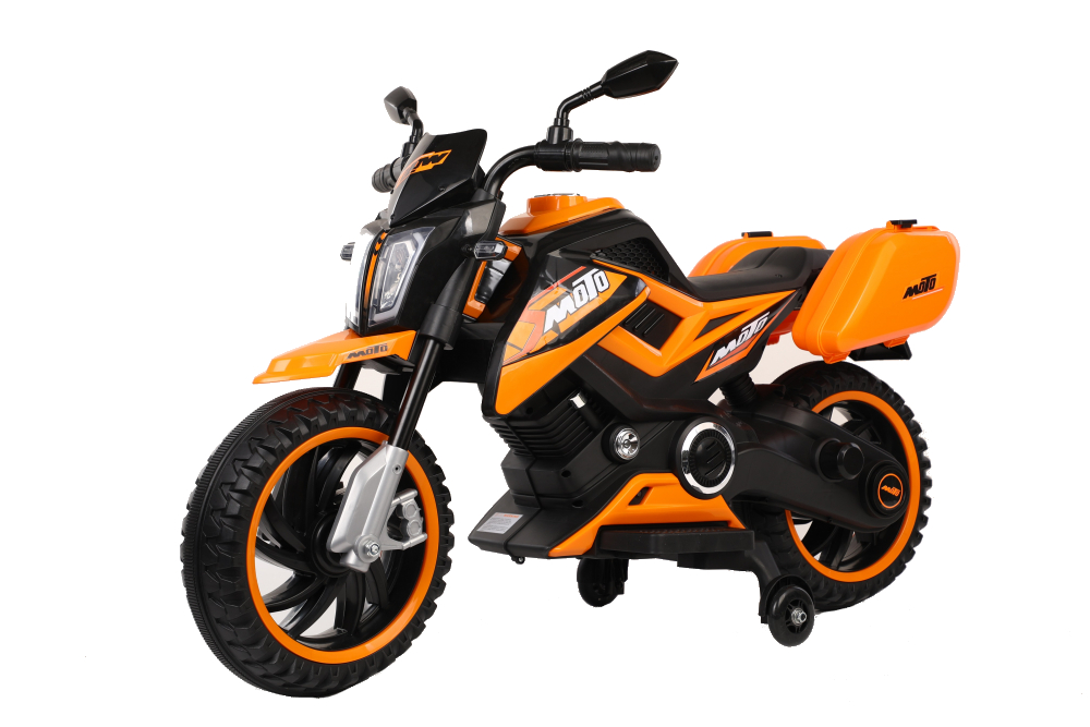 Motocicleta electrica 12V Nichiduta Moto Orange - 6