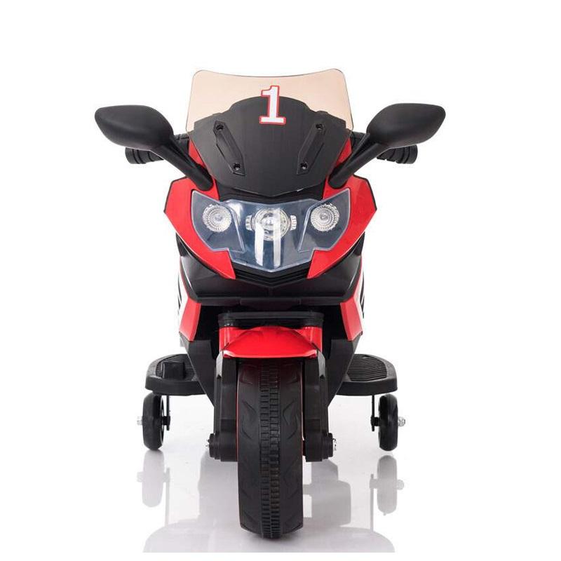 Motocicleta electrica 6V cu roti ajutatoare Nichiduta X-Race Red - 3