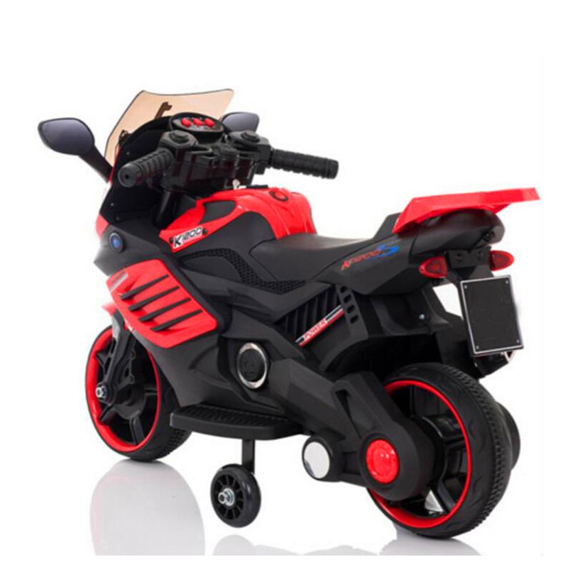 Motocicleta electrica 6V cu roti ajutatoare Nichiduta X-Race Red - 4