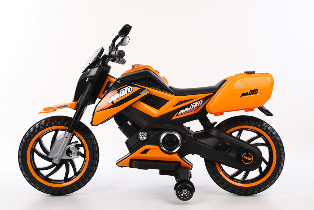 Motocicleta electrica 12V Nichiduta Moto Orange