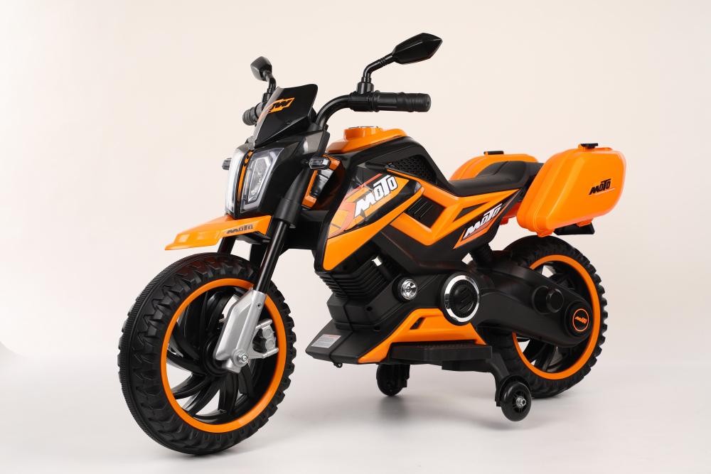 Motocicleta electrica 12V Nichiduta Moto Orange - 1