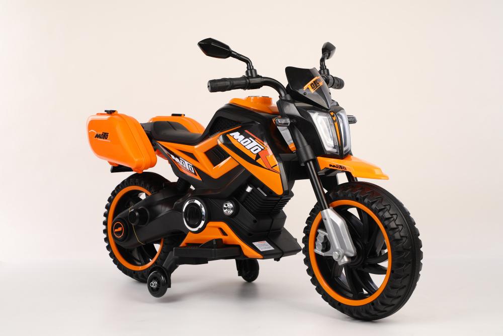 Motocicleta electrica 12V Nichiduta Moto Orange - 2