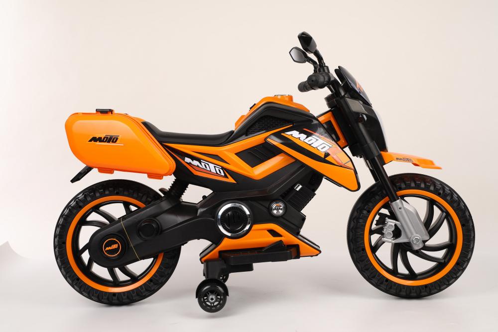 Motocicleta electrica 12V Nichiduta Moto Orange - 3