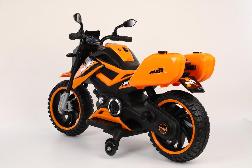Motocicleta electrica 12V Nichiduta Moto Orange - 4
